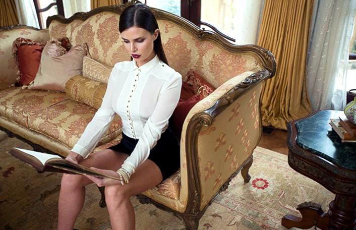 Julia Lescova, model