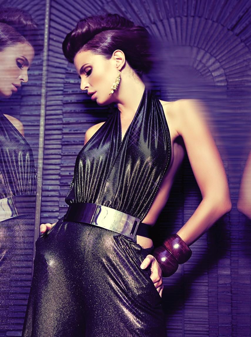 Julia Lescova, fashion top, model, red hot