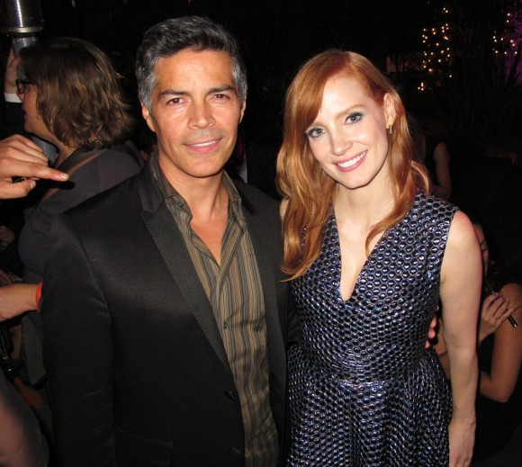 A Most Violent Year, Esai Morales, Jessica Chastain