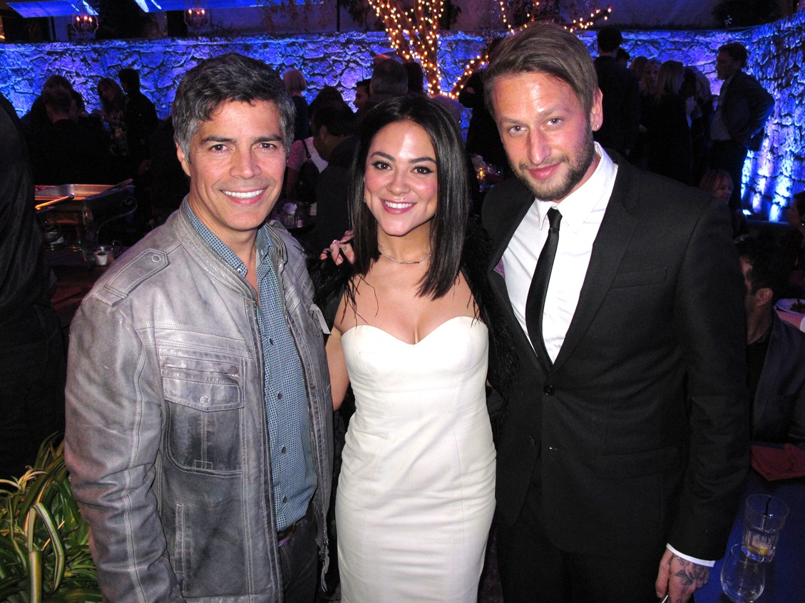 Cake Movie Premiere, Esai Morales, Camille Guaty-Kaye