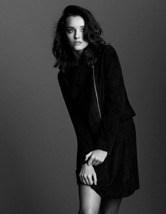 Eliza Ward fashion black white