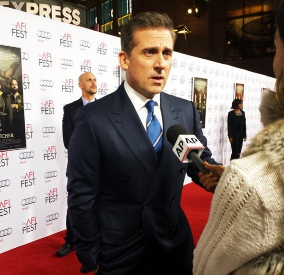Foxcatcher, Steve Carell, red carpet