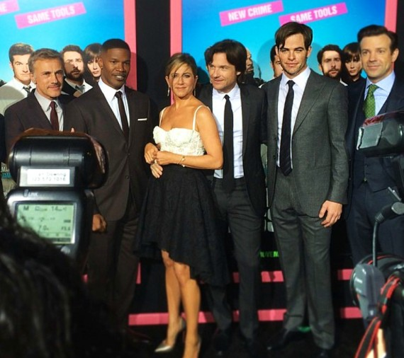 Horrible Bosses 2, Christoph Waltz, Jamie Foxx, Jennifer Aniston, Jason Bateman, Chris Pine, Jason Sudeikis
