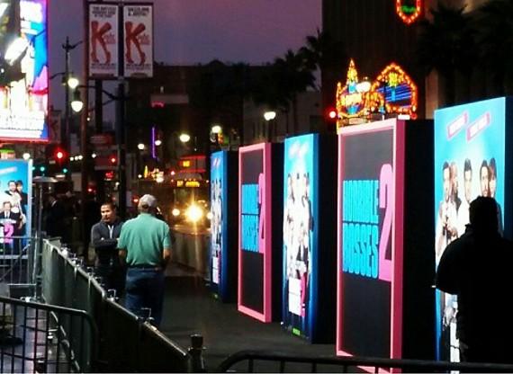 Horrible Bosses 2, premiere, Los Angeles