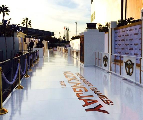 Hunger Games, Mockingjay movie premiere LA
