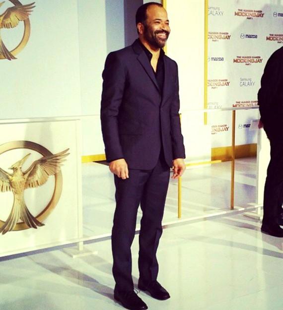Hunger Games, Mockingjay, part 1, movie premiere, Jeffrey Wright