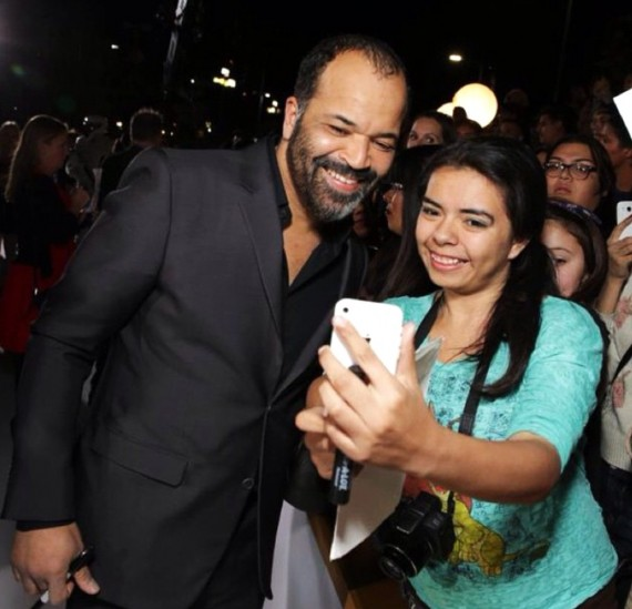 Hunger Games, Mockingjay part 1, movie premiere, Jeffrey Wright