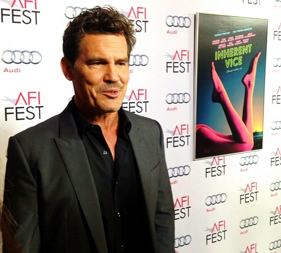 Inherent Vice, Josh Brolin, premiere