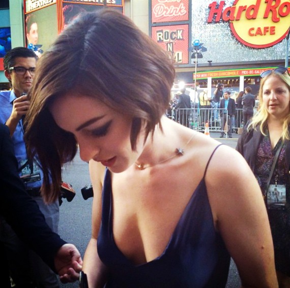 Interstellar, Anne Hathaway, premiere