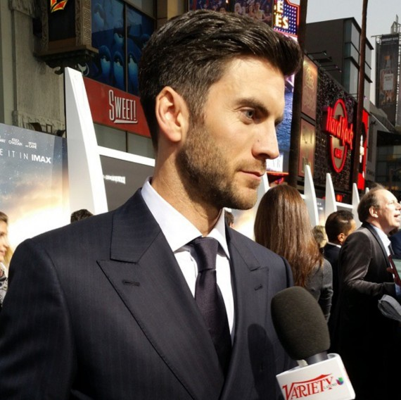 Interstellar, Wes Bentley, premiere