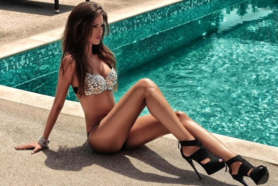 Ivana Vuknic pool fashion