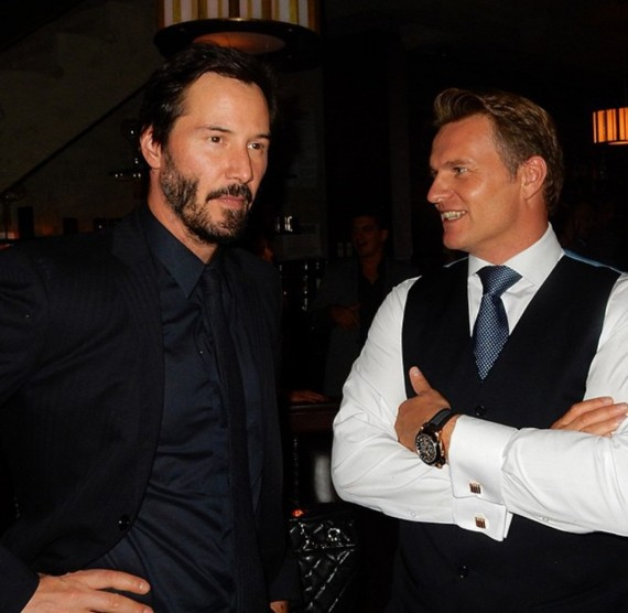John Wick, Keanu Reeves, after party