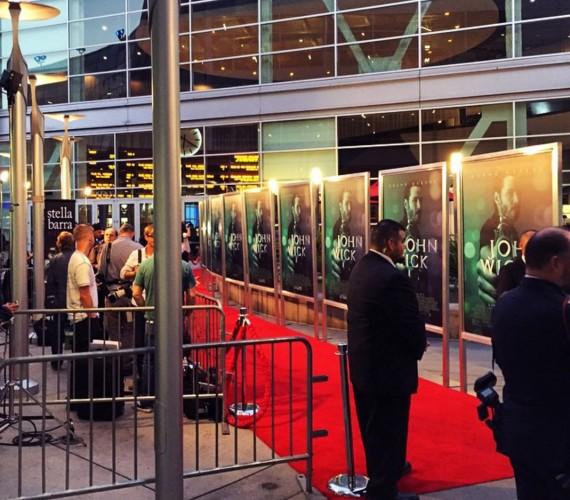 John Wick, red carpet, premiere