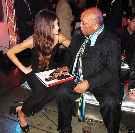 Quincy Jones, Maybach, Icons of Luxury, LA