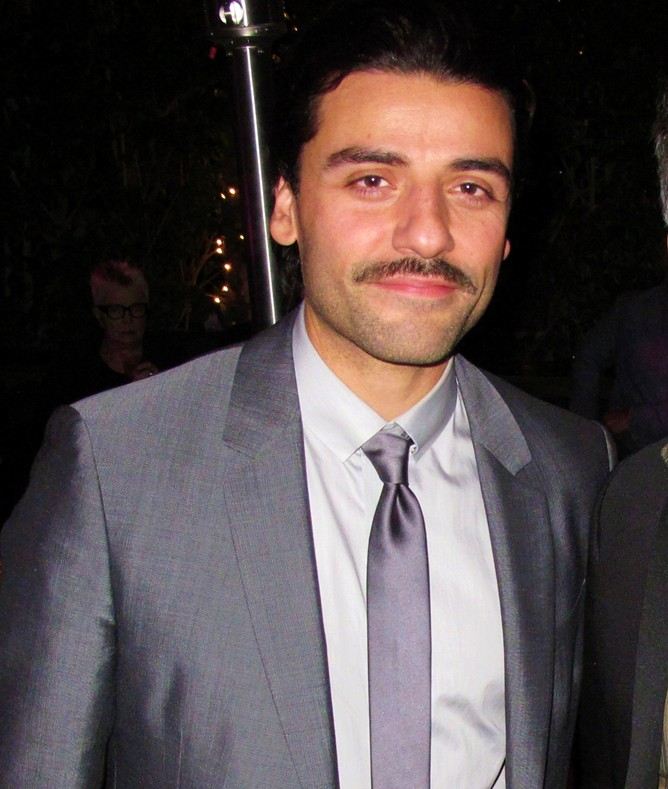 RED HOT ROSTER, November, Oscar Isaac