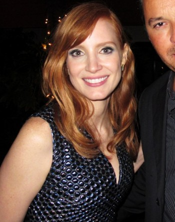 RED HOT ROSTER October Jessica Chastain