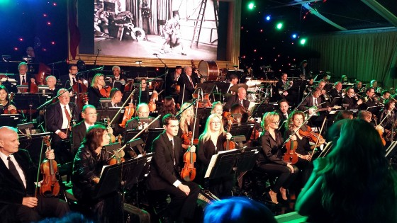 Seth MacFarlane Party, 60 piece orchestra
