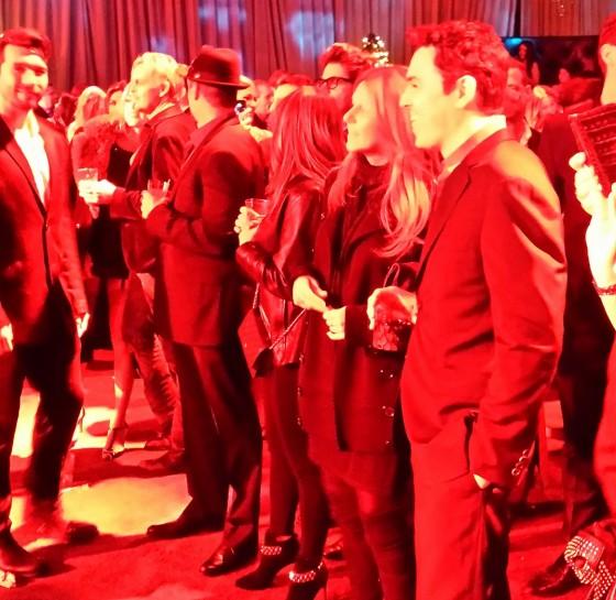 Seth MacFarlane Party, celebrity, christmas