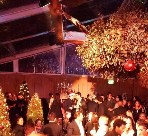 Seth MacFarlane Party, christmas, Holiday celebrity