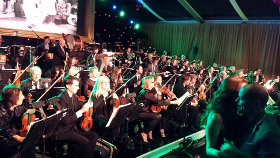 Seth MacFarlane Party, orchestra
