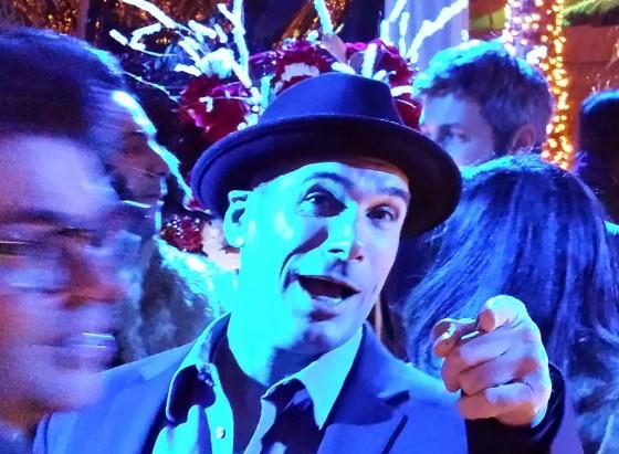 Seth MacFarlane christmas party, holiday party