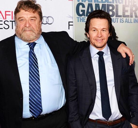 The Gambler, John Goodman, Mark Wahlberg, Hollywood premiere