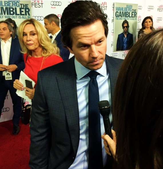 The Gambler, Mark Wahlberg, red carpet premiere
