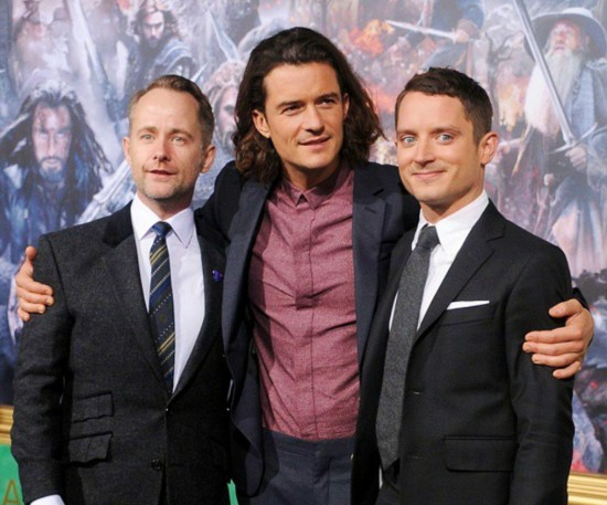The Hobbit, The Battle of Five Armies, Billy Boyd, Orlando Bloom, Elijah Wood