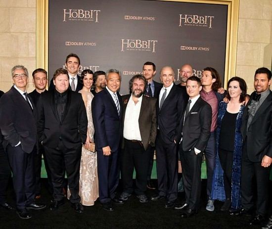 The Hobbit, The Battle of Five Armies, Hollywood premiere