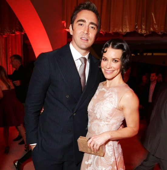 The Hobbit, The Battle of Five Armies, Lee Pace, Evangeline Lilly, after party