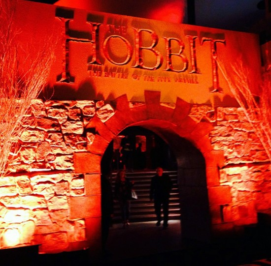 The Hobbit, The Battle of Five Armies, after party, movie