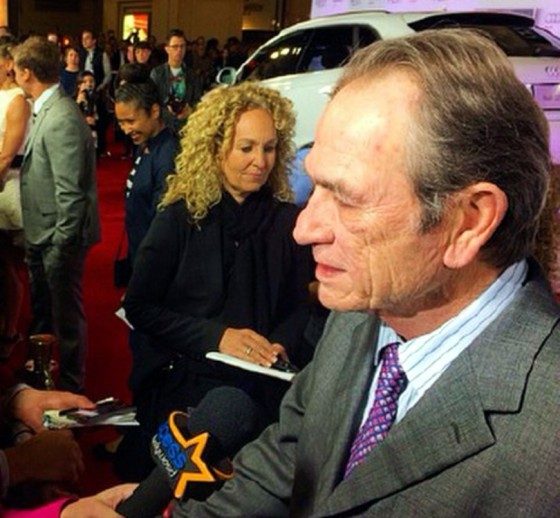 The Homesman, Tommy Lee Jones, red carpet premiere