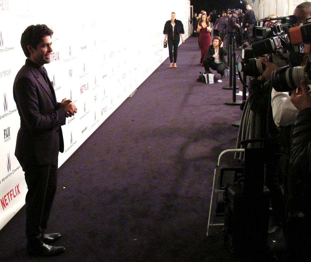 Weinstein Company, Adrian Grenier, Golden Globes, party