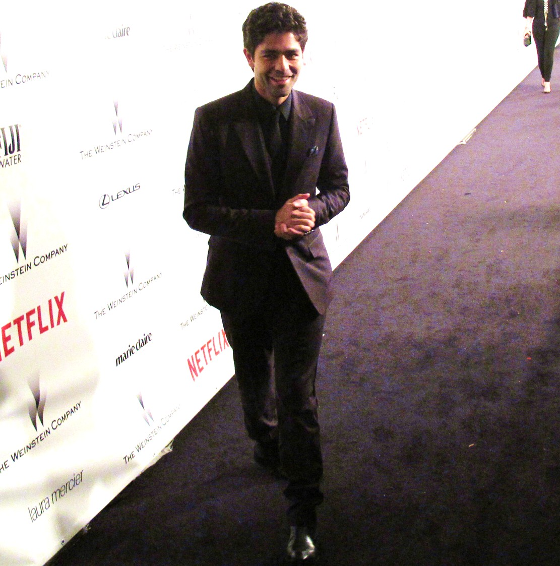 Weinstein Company, Golden Globes, Adrian Grenier, party