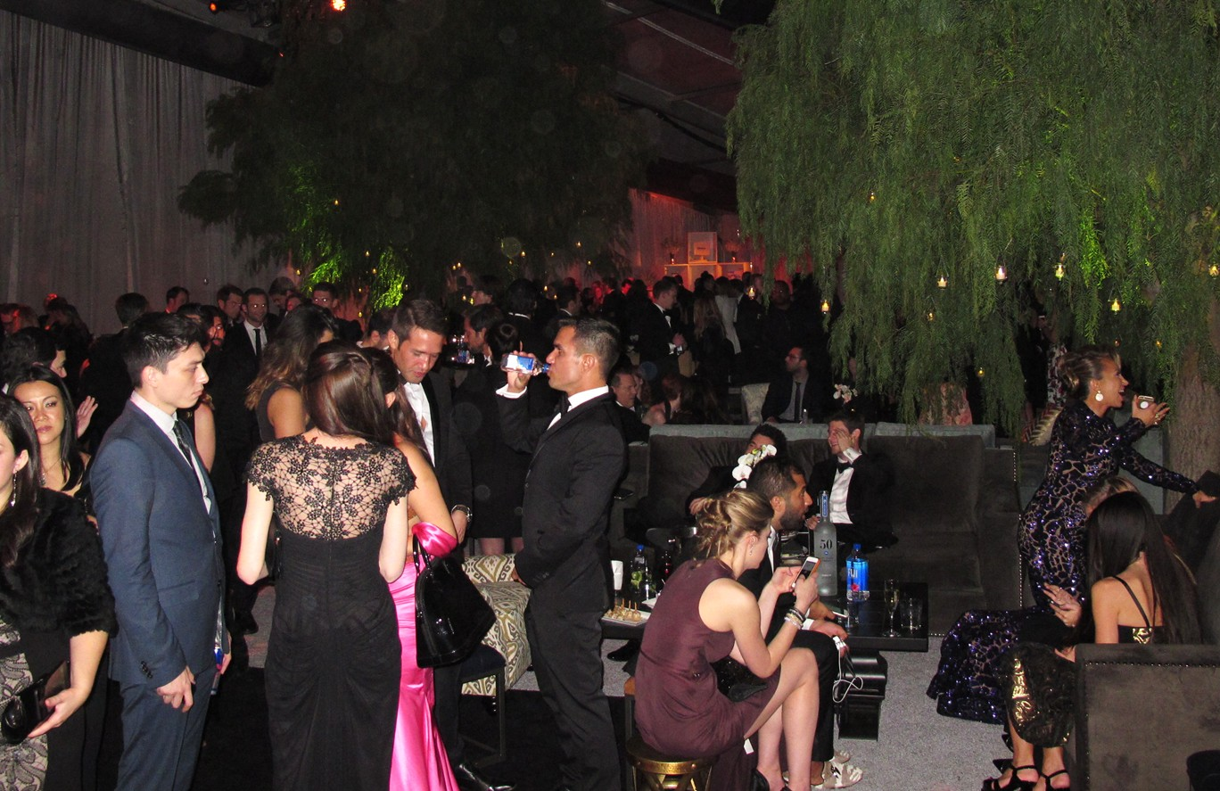 Weinstein Company, Golden Globes, party