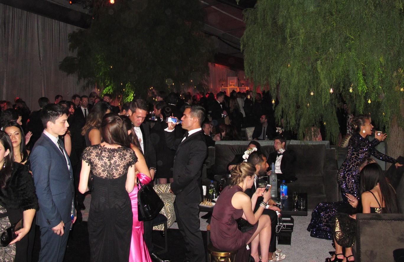 Weinstein Company, Golden Globes, party