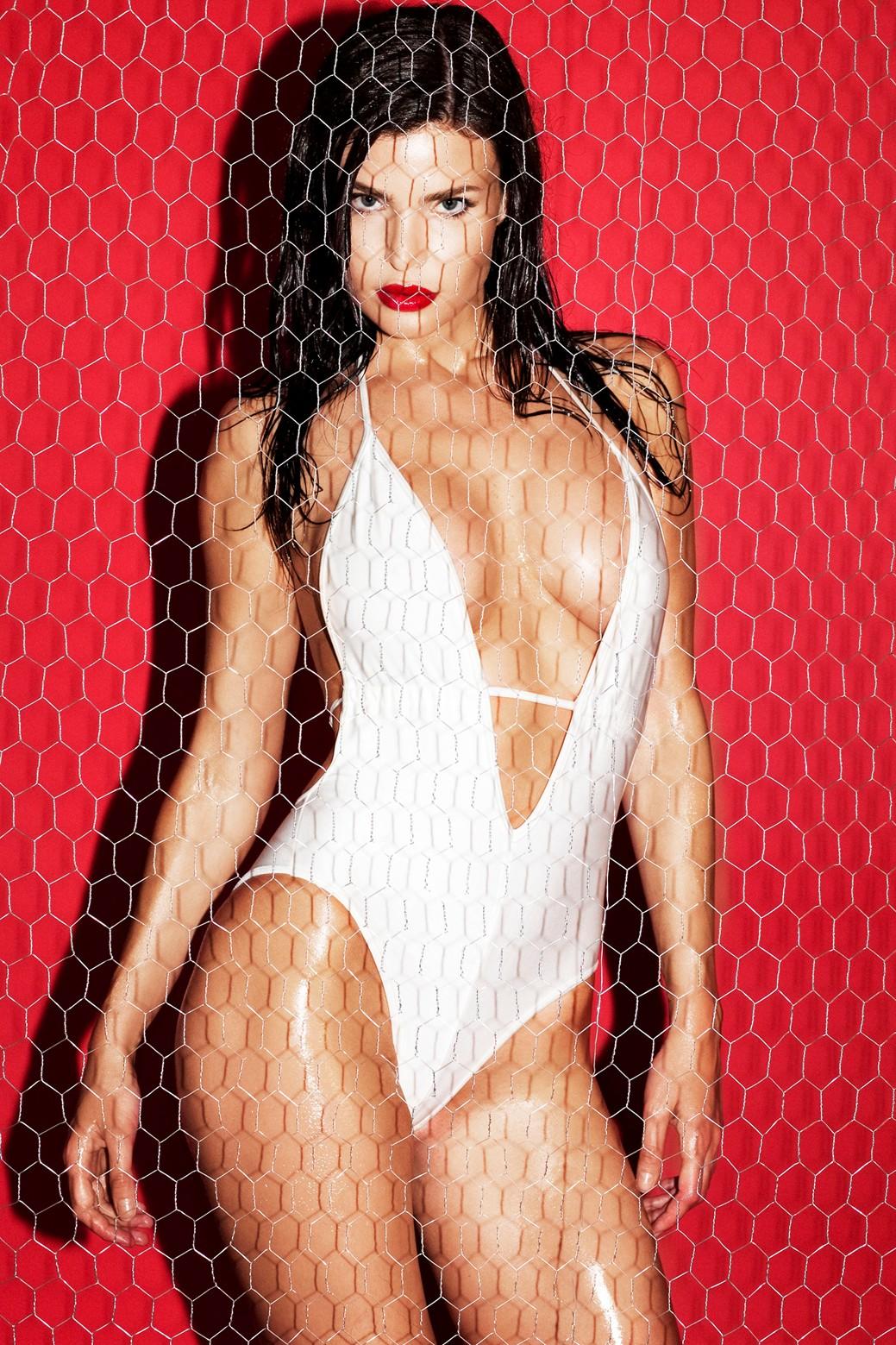 Julia Lescova, sexy, beautiful, red hot
