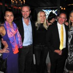 Sean Campbell, Dionisio Fontana, Dan Fontana, Karina Bartkevica, ROCK OF AGES: Special Screening After Party