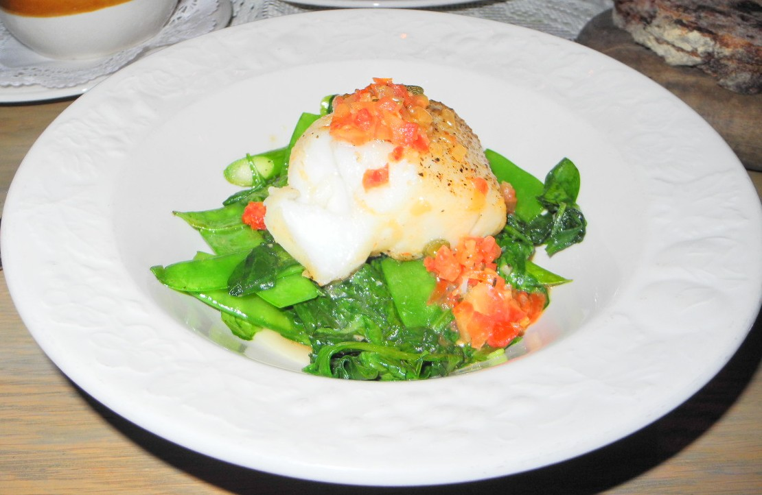 Mari Vanna - Chilean Sea Bass Baked