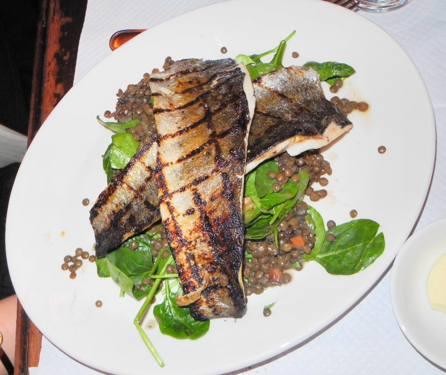Balthazar - Grilled Trout