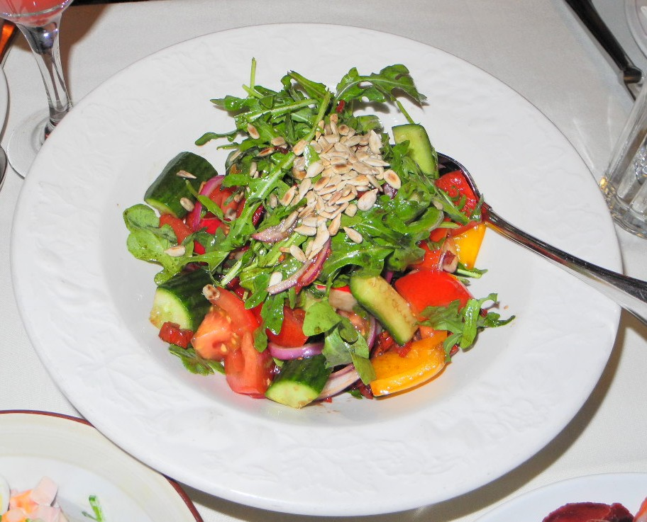 Mari Vanna - Sunflower Seed Salad