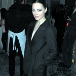 Melissa George, Maison Martin Margiela H&M global launch New York