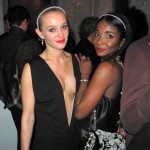 Elizabeth Gilpin, Genevieve Jones, Maison Martin Margiela H&M global launch New York