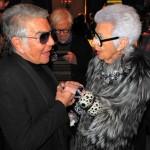 Roberto Cavalli, Iris Apfel, Bergdorf Goodman 111 Year Anniversary
