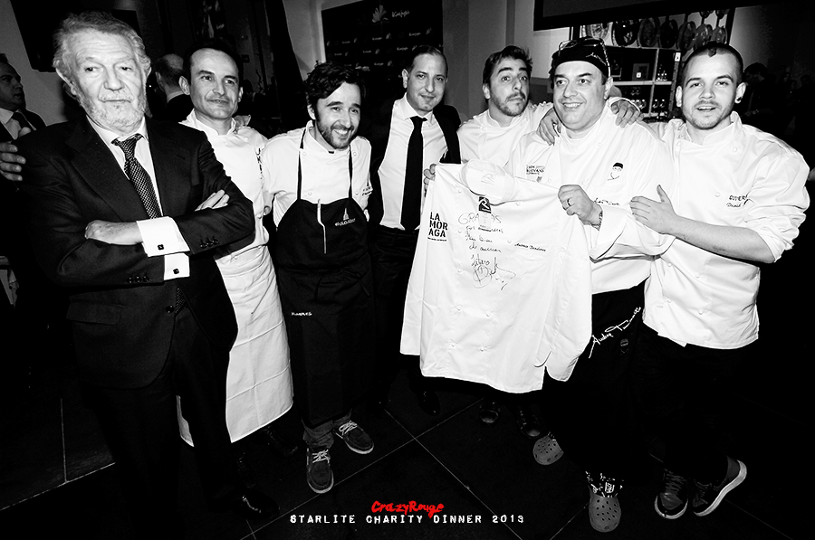 Crazy Rouge+18.1 Starlite Charity Dinner 2013