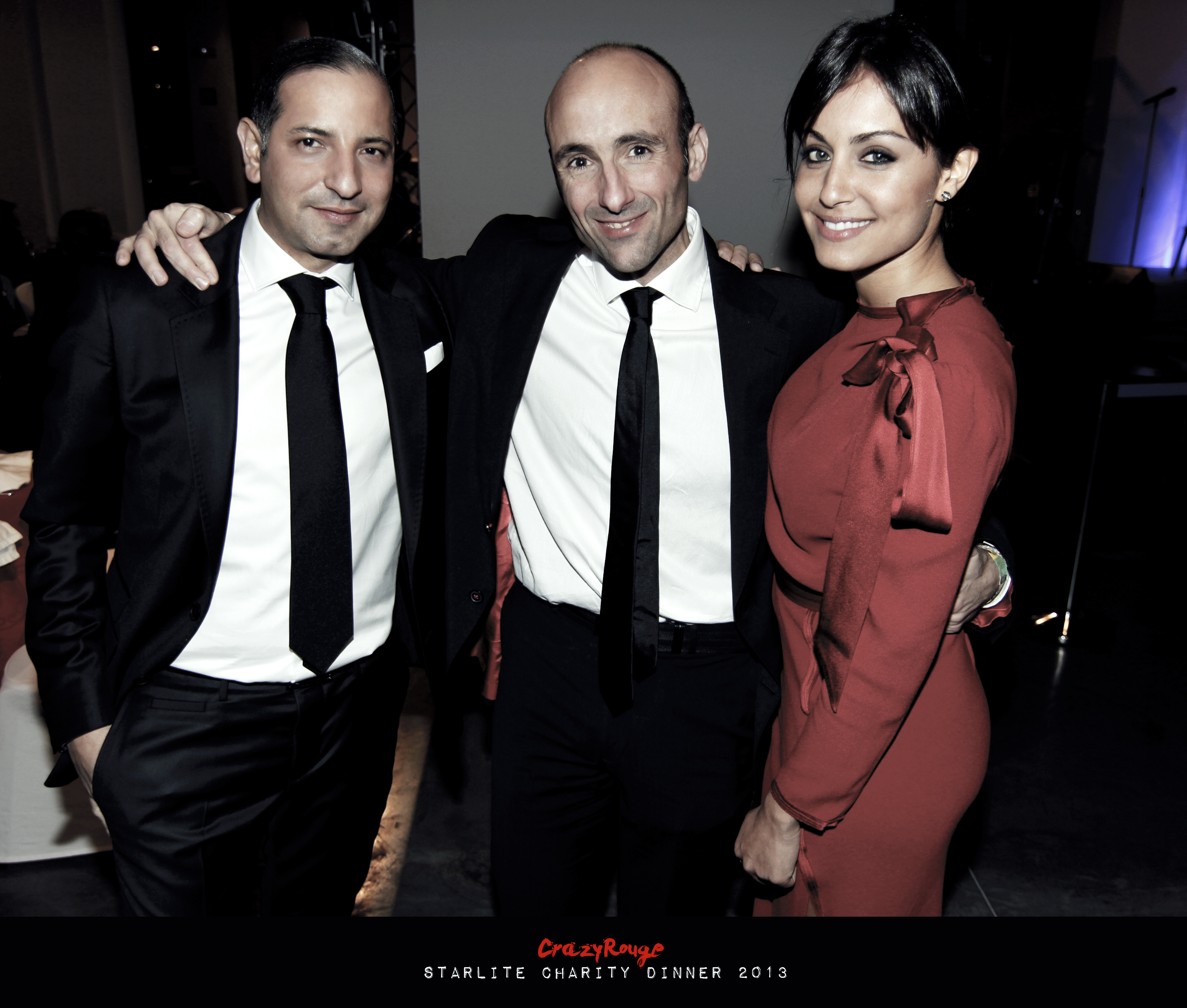 Crazy Rouge+21 Starlite Charity Dinner 2013+Hiba Abouk