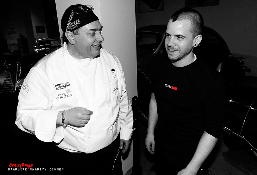 Crazy Rouge+23 Starlite Charity Dinner 2013+Andrea Tumbarello+David Munoz