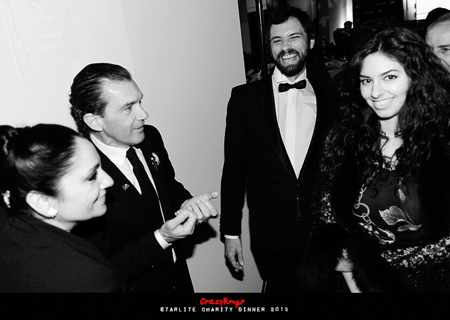 Crazy Rouge+35 Starlite Charity Dinner 2013+Antonio Banderas