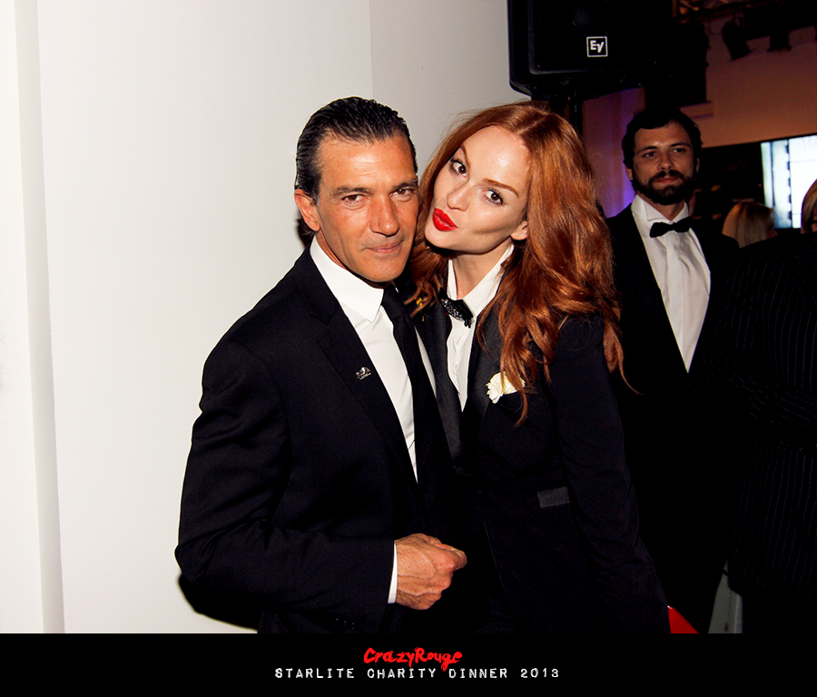 Crazy Rouge+36 Starlite Charity Dinner 2013+Antonio Banderas
