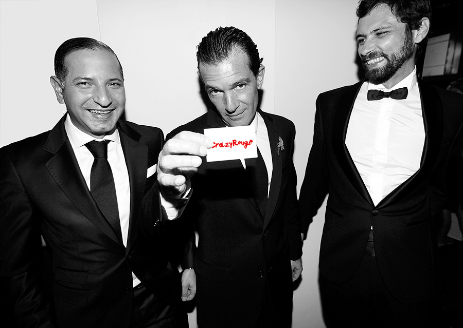 Crazy Rouge+39 Starlite Charity Dinner 2013+Antonio Banderas